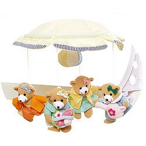Мягкие игрушки на детскую кроватку своими руками
