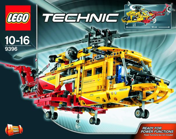 лего техник инструкция 9396 - фото 8