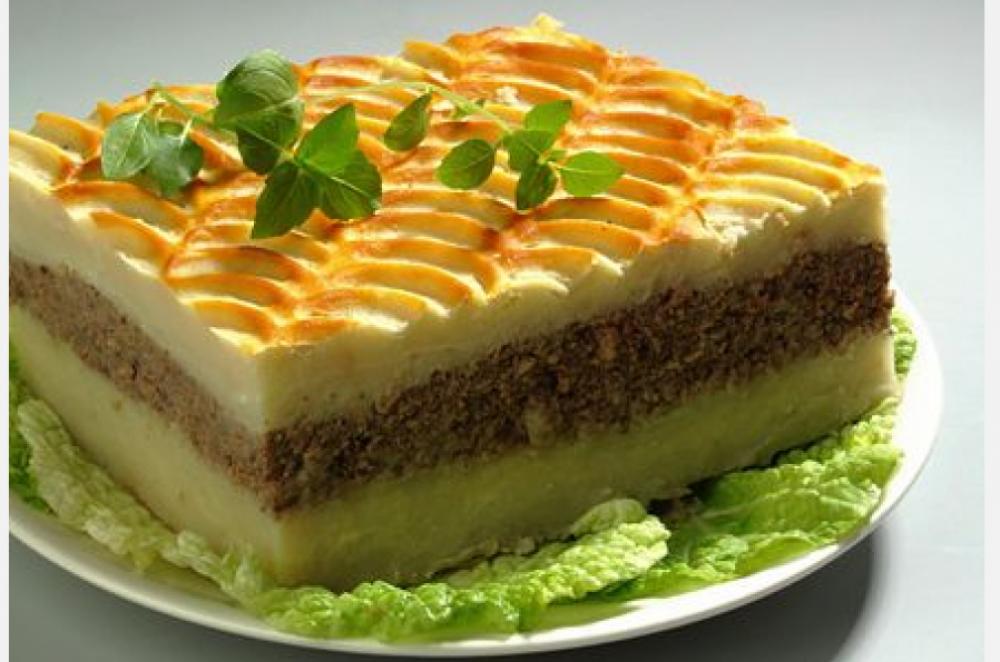 Рецепт картофельной запеканки с фаршем как в садике с фото